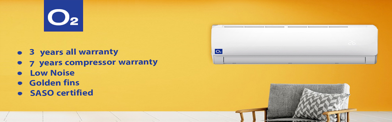 O2 Air Conditioners